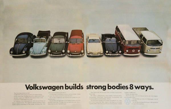 Volkswagen Builds Strong Bodies 8 Ways Poster