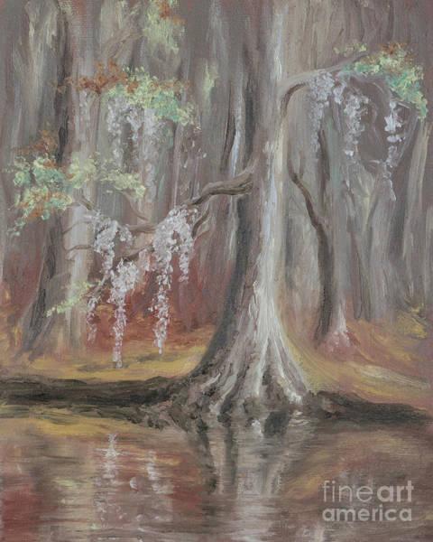 Waccamaw River Cypress Poster