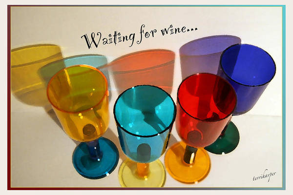 Waiting For Wine Poster
