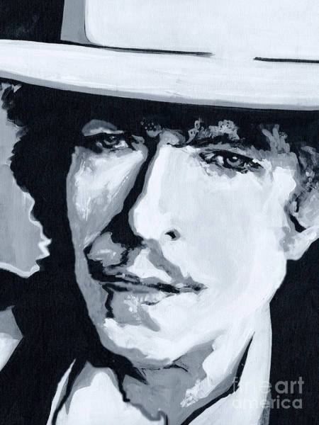 Wandering Troubadour - Bob Dylan Poster