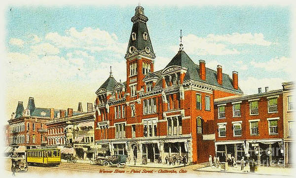 Warner House - Chillicothe Ohio Poster