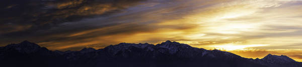 Wasatch Dawn Poster