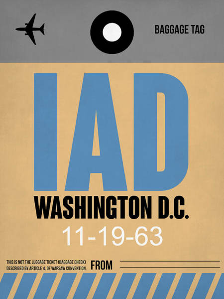 Washington D.c. Airport Poster 3 Poster