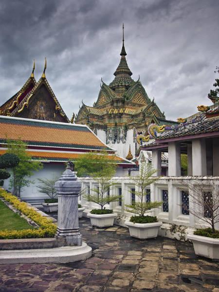 Wat Pho Temple Gardens Poster