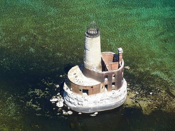 Waugoshance Lighthouse Poster