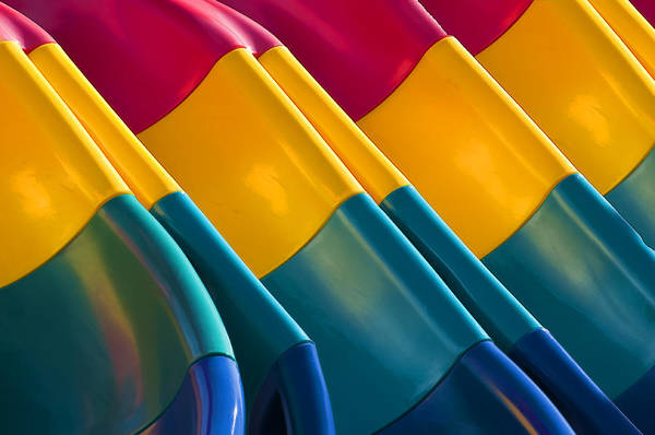Waves Of Color Poster