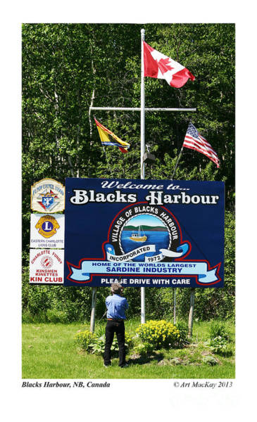 Welcome To Blacks Harbour Poster