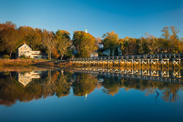 Wellfleet Reflection Poster