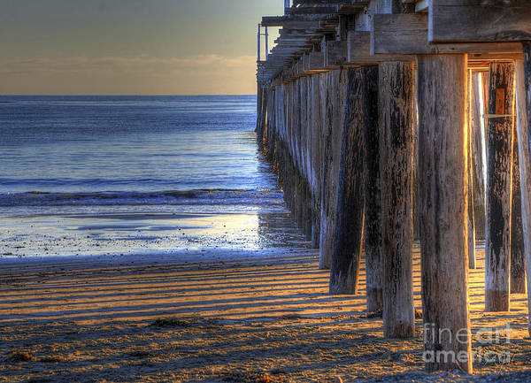 West Coast Cayucos Pier Poster