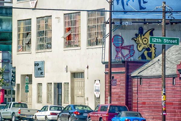 West Coast Graffiti Poster