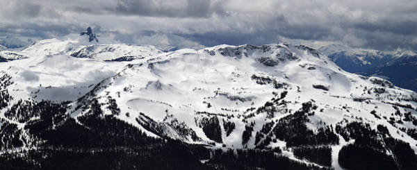 Whistler Mountain View From Blackcomb Poster