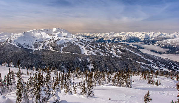 Whistler Mountain Winter Poster