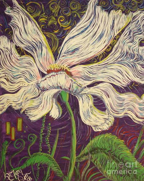 White Flower Series 6 Poster