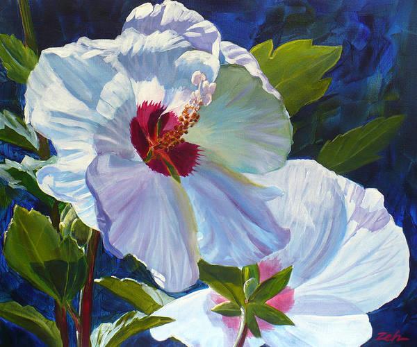 White Rose Of Sharon Poster
