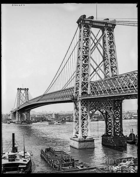 Williamsburg Bridge Poster