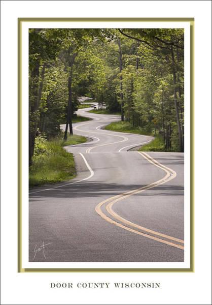 Winding Road Door County Poster