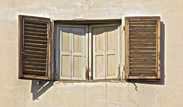 Window Of Tuscany Poster