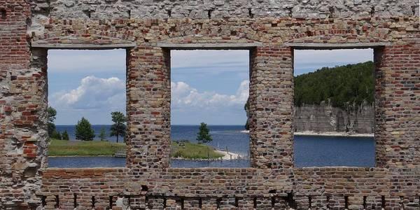 Windows On Snail Shell Harbor Poster