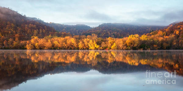 Winona Mn Fall Colors Panorama No Towers Poster