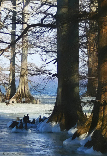 Winter At Reelfoot Lake Poster