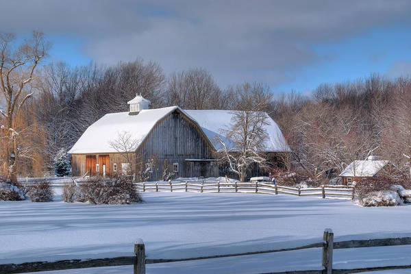 Winter On The Farm 14586 Poster