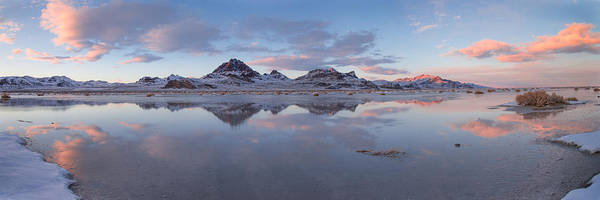 Winter Salt Flats Poster