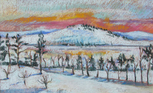 Winter View From Kripalu Poster