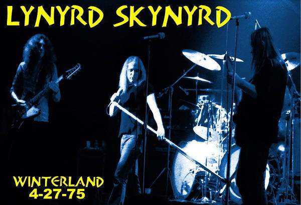 Winterland 4-27-75 Poster