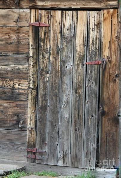 Wood Shed Door Poster