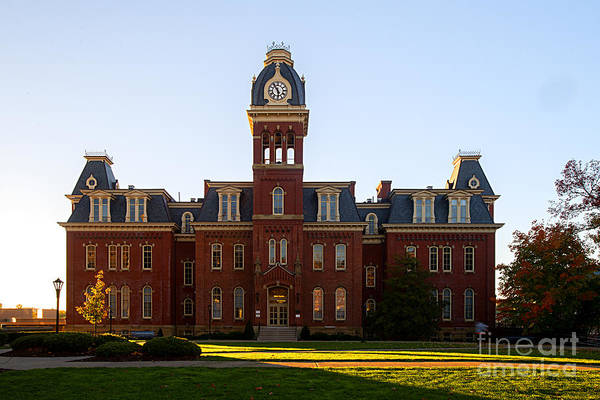 Woodburn Hall Late Afternoon Sun Poster