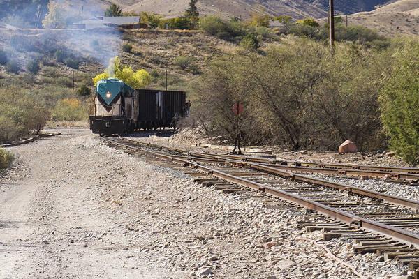Work Train In Clarkdale Arizona Poster