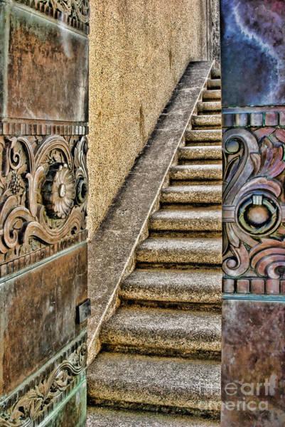 Wrigley's Bronze Doors By Diana Sainz Poster