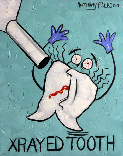 Xrayed Tooth Poster