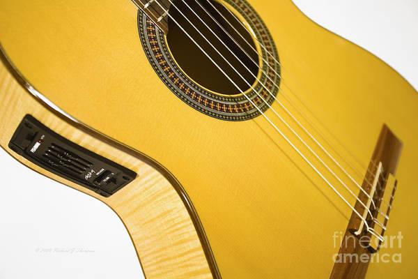 Yellow Guitar Poster