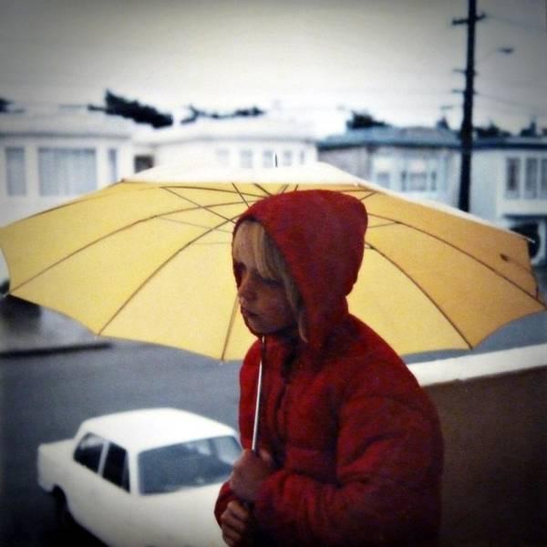 Yellow Umbrella - Polaroid 1976 Poster