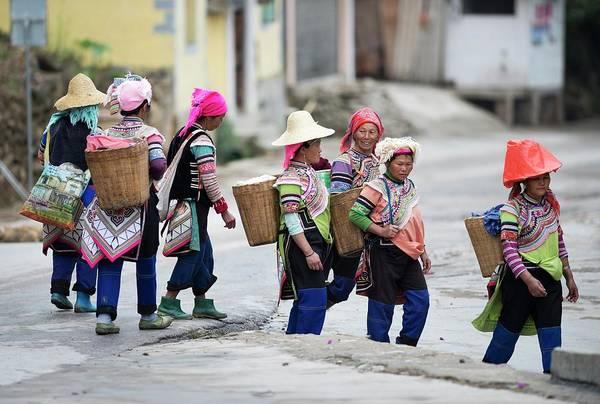 Yi Ethnic Minority Women Farmers Poster