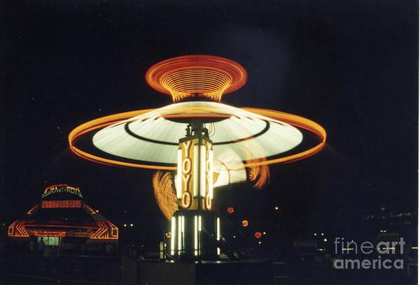 Yo-yo Carnival Ride Poster