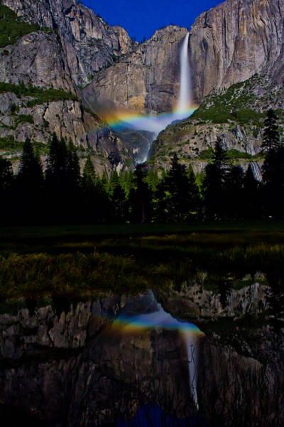 Yosemite Moonbow Poster