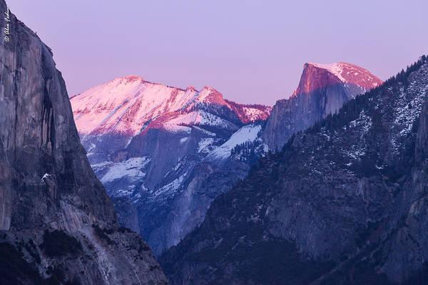 Yosemite Valley Panorama Poster
