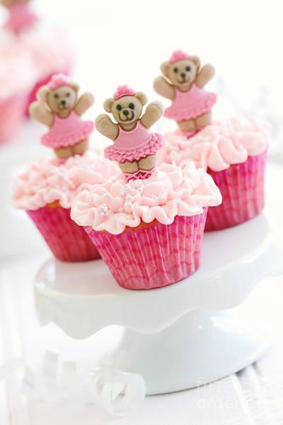 Ballerina Cupcakes Poster