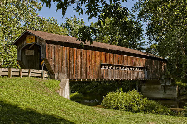 Benetka Road Covered Bridge Poster