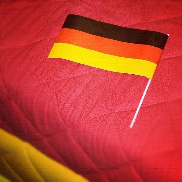 German Flag And Colors Poster