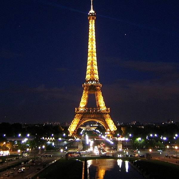 Paris By Night Poster