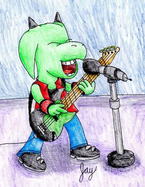 Jett The Alien Bassist Poster