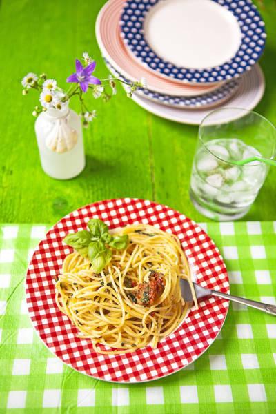 Spaghetti Al Pesto Poster
