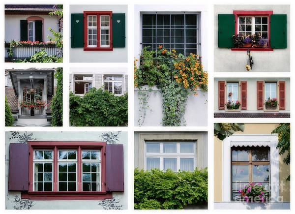 Swiss Windows Poster