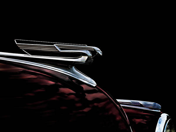 1940 Chevy Hood Ornament Poster