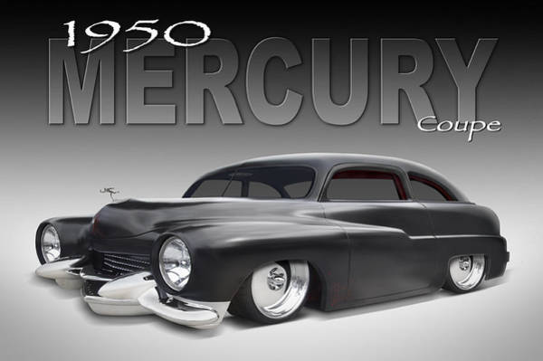50 Mercury Coupe Poster