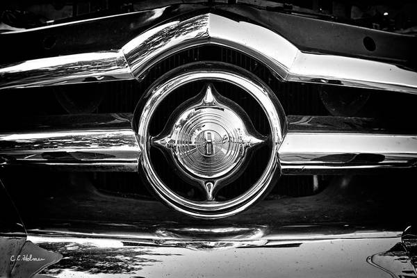 8 In Chrome - Bw Poster