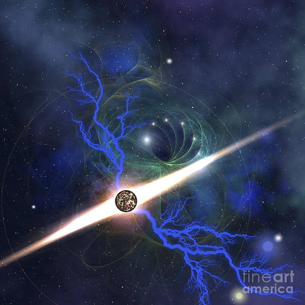 A Brilliant Star In The Universe Poster